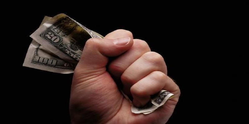 Geldscheine in der Faus